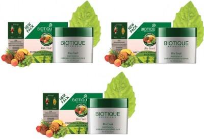 Biotique Bio Fruit Whitening & Depigmentation Face Pack Pack Of 3