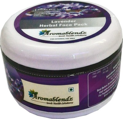 Aromablendz Herbal Lavender Face Treatment pack - Brown