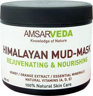 Amsarveda Himalaya Mud-Mask - Rejuvenating & Nourishing