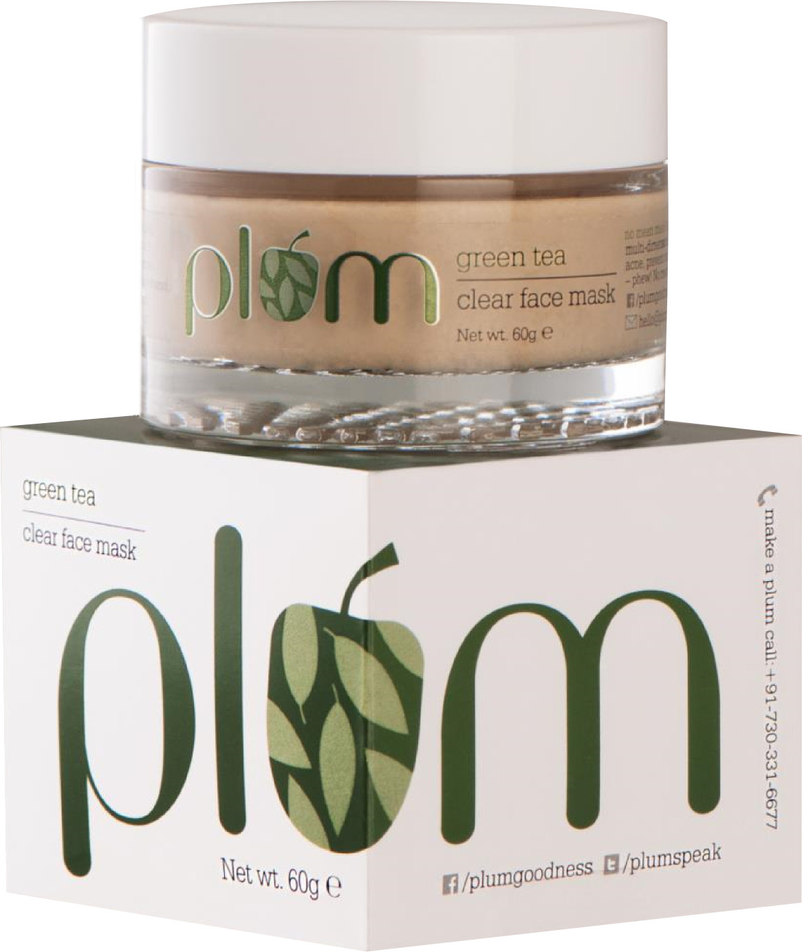 Plum Green Tea Clear Face Mask(60 g)