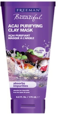 Freeman Feeling Beautiful ACAI Purifying Clay Mask with Ayur Soap