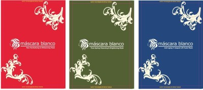 Mascara Blanco New Revitalizing Whitening & Brightening & Anti-Aging V-Shaped Lift Facial Mask