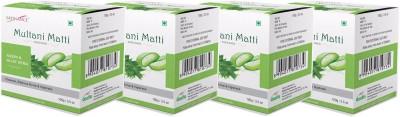 Satinance Multani Mati with Neem & Aloevera 100g Pack of 4
