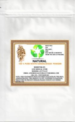 Natural White Sandalwood Powder
