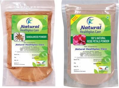 Natural Healthplus Care Sandal Rose Powder Combo