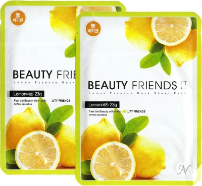 Beauty Friends Lemon Essence Mask Sheet Pack