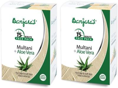 Banjaras Multani With Aloe Vera 100gms Set Of 2 Pack