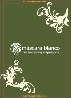 Mascara Blanco Pure Spring Cleansing & Brightening Mask