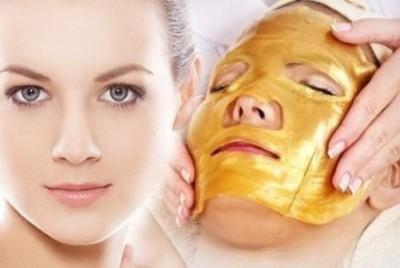 Crystal Collagen Gold Collagen Face Mask - Anti Aging, Wrinkles, Moisturising, Blemishes, Firming, Toning, Dark Circles, Smoothing Skin, Natural Lift