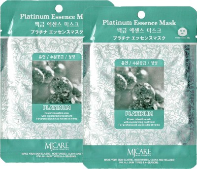 MJ CARE Platinum Essence Sheet Mask