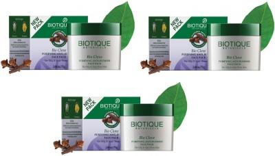Biotique Bio Clove Purifying Anti Blemish Face Pack