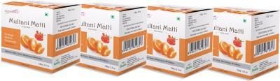 Satinance Multani Mati with Orange Peel & Geranium 100gm Pack fo 4