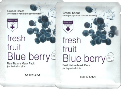 Mirum Blue Berry Real Natural Mask Pack