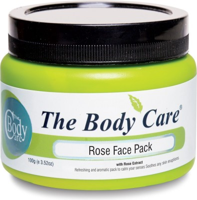 the body care Rose Face Pack 100g