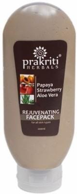 Prakriti Herbals Rejuvenating Papaya Strawberry Aloevera Facepack