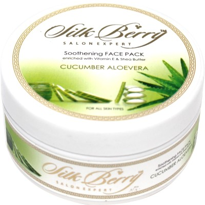 Silk Berry Cucumber and Aloe Vera Soothening Face Pack