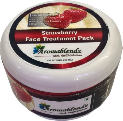 Aromablendz Strawberry Anti Wrinkle Face Treatment Pack