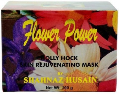 Shahnaz Husain Flower Power Holly Hock Skin Rejuvenating Mask
