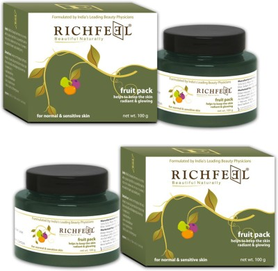 Richfeel Fruit Pack 100g (Set Of 2)