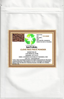 Natural CLOVE FACE PACK POWDER WITH SANDALWOOD