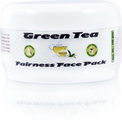 Adidev Herbals Ayurvedic Skin Brightening Green Tea Fairness Pack