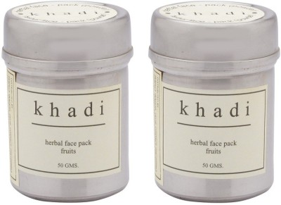 Khadi Natural Fruits Facepack 50gm (Powder) Pack Of 2