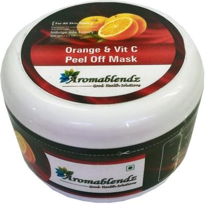 Aromablendz Orange & Vit C Rejuvenating Peel off Mask