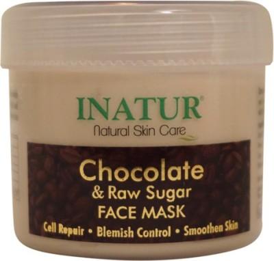 Inatur Chocolate & Raw Sugar Face Mask