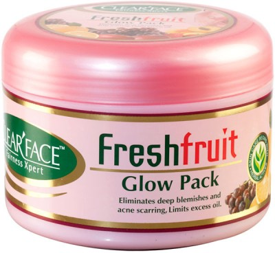 Clear Face Fresh Fruit Glow Pack