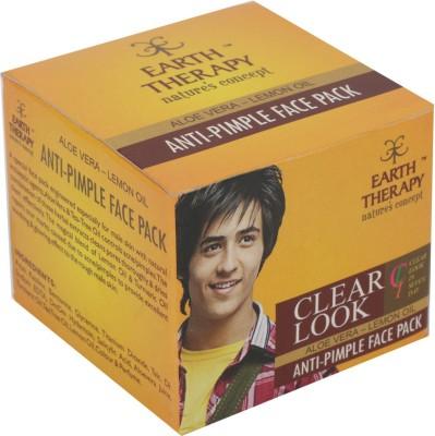 EARTH THERAPY Clear Look Anti Pimple Aloevera- Lemon Oil (Men)