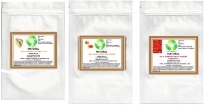Natural Multani Mitti, Rose And Orange Peel Powder