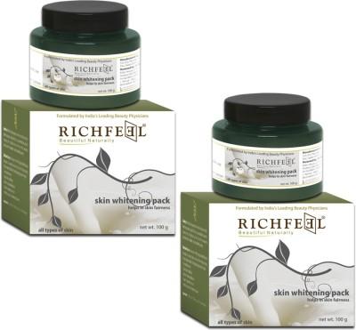 Richfeel Skin Whitening Pack 100g (set Of 2)