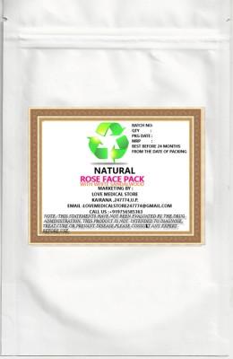 Natural Rose Face Pack