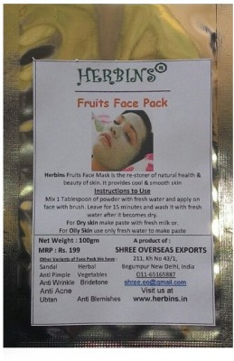 Herbins Fruits Face Pack