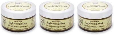 Auravedic Ritual Skin Lightening Mask (pack of 3)