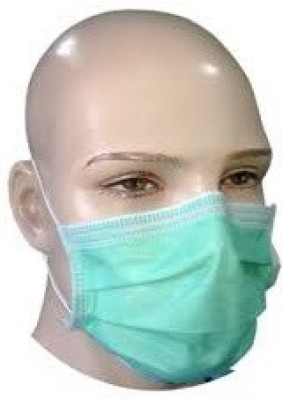 Neon Non Woven Disposable (Pack Of 100)  Face Shaping Mask