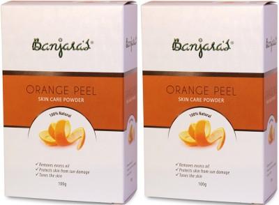 Banjaras Pure Herb Orange Peel Powder 20g X 5 Set Of 2 Pack
