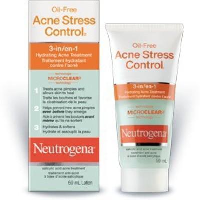 Neutrogena Oil Free Acne Stress Control 3 - In - 1 Hydrating Acne Treatment