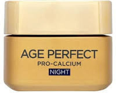 L ,Oreal Paris l,oreal age perfect pro-calcium fortifying night cream