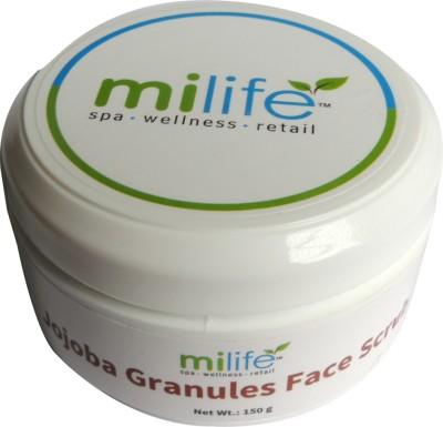 Milife Jojoba Granules Face Scrub
