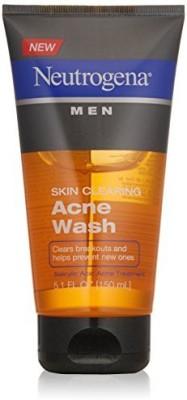 Neutrogena Men S Skin Clearing Acne Wash