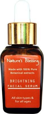 Nature's Blessing Brightening Facial Serum