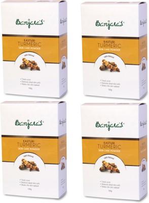 Banjaras Kasturi Turmeric Set of 4 Pack