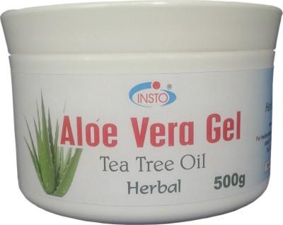 INSTO Aloevera Gel With Tea Tree Oil