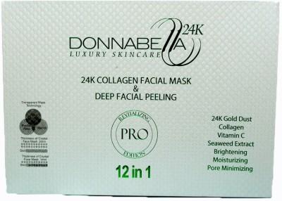 Get best deal for Donna Bella 24k Collagen facial mask and peeling at Compare Hatke