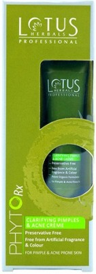 Lotus Phytorx Clarifying Pimples & Acne Cream