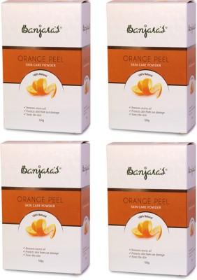 Banjaras Orange Peel Set of 4