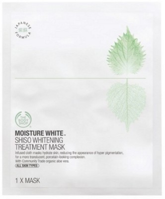 The Body Shop Moisture White Shiso Whitening Treatment Mask