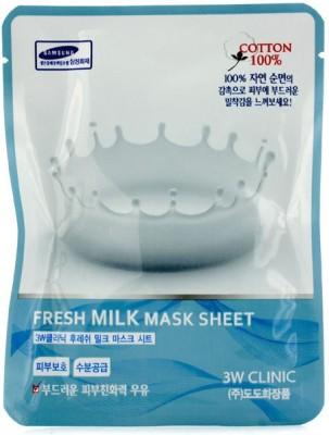3W Clinic Cleanser Mask Sheet - Fresh Milk