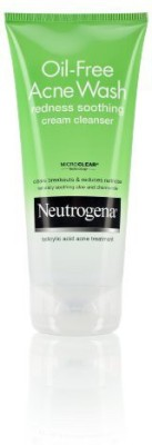 Neutrogena Oil - Free Acne Wash Redness Soothing Cream Cleanser